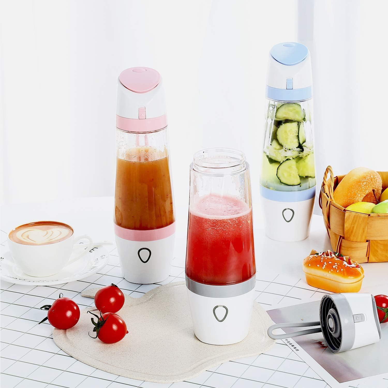 Licuadora para Fruta, Extractor de zumo de frutas 380ML para el ...