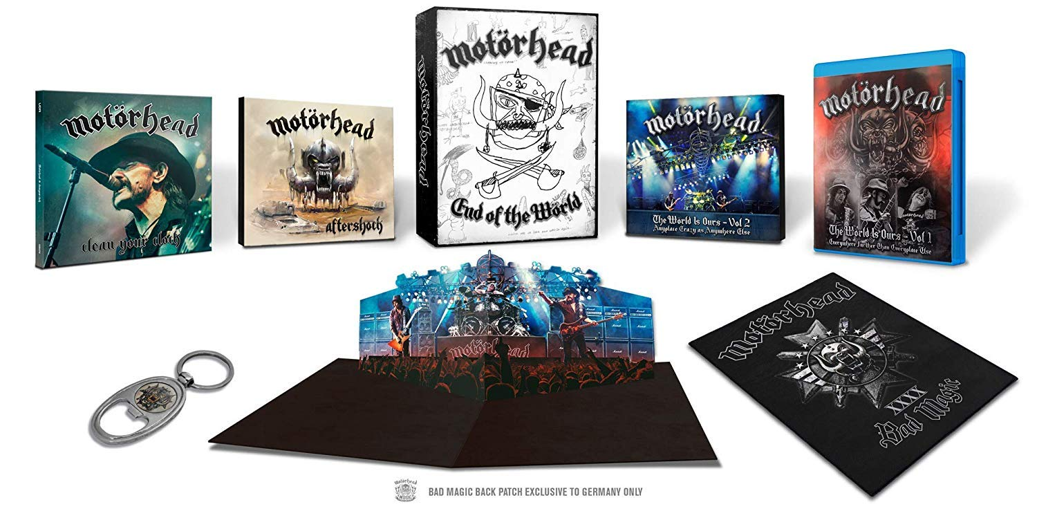 END OF THE WORLD (4CD+3DVD+2 BLU-RAY)