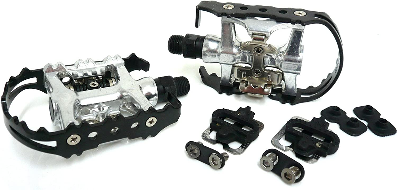 Ultimate Hardware PEDALFLATSPD - Pedales para bicicleta (calapiés ...