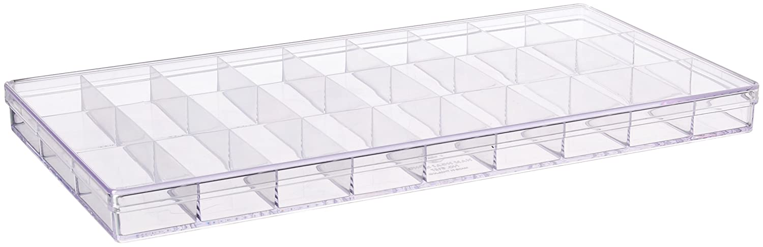 Lego Minifigures Organizer Box Crystal Clear Plastic Display Case - 27 Dividers Nam Ngai Hong Industry Co. Ltd.