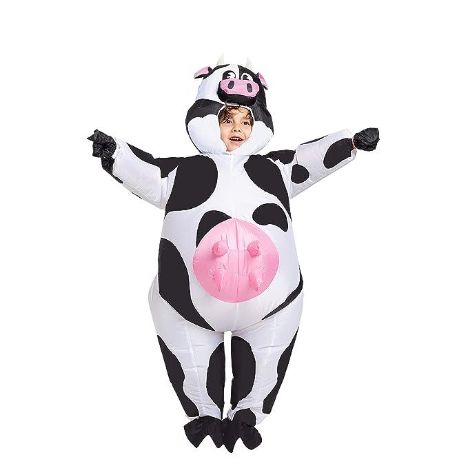 Amazon.com: Spooktacular Creations disfraz inflable de vaca ...