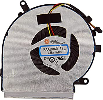 Ventilador de refrigeración para Ordenador portátil MSI GE62 GE72 ...