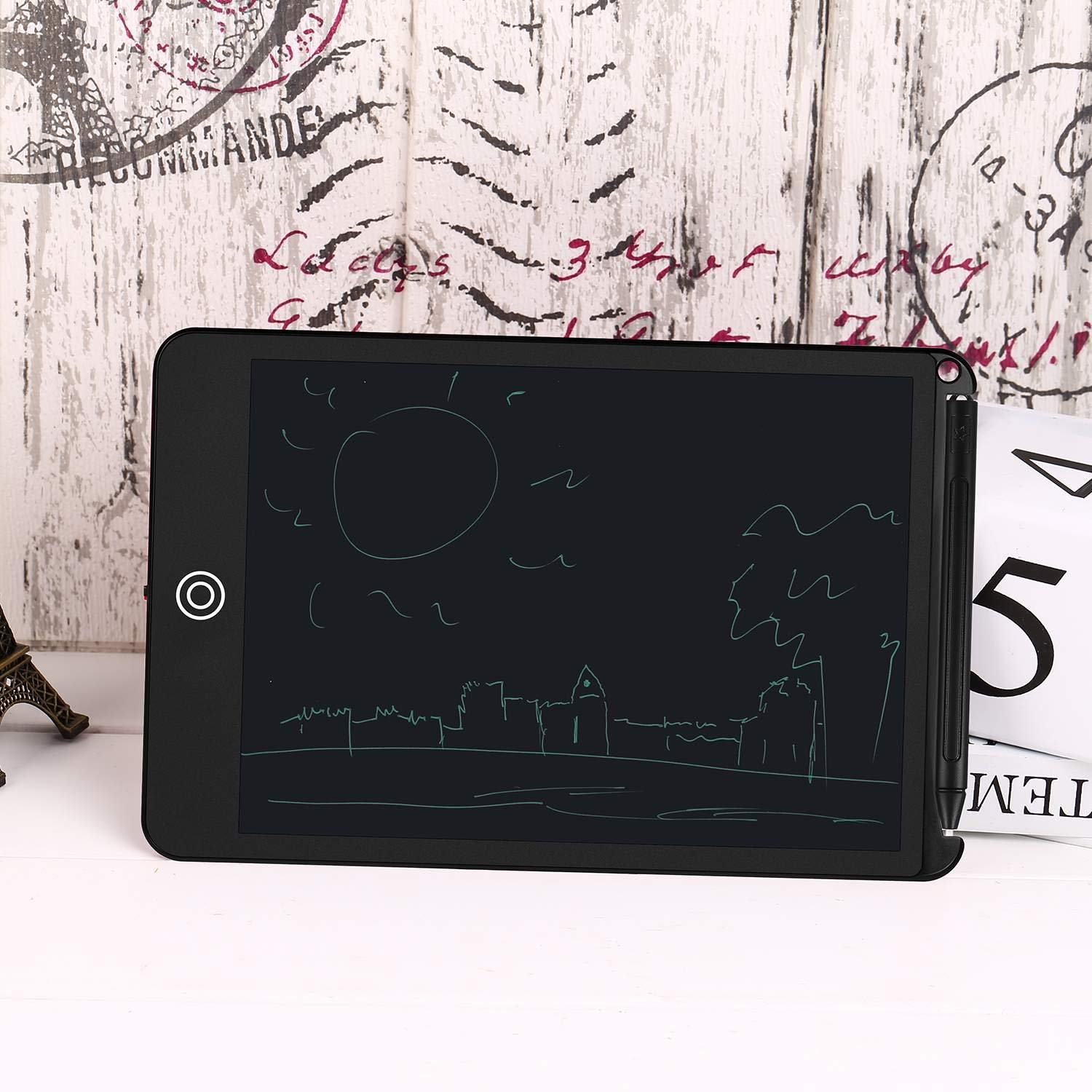 Hello22 8.5 LCD Writing Tablet Drawing Board Electronic Handwriting Doodle Pad with Stylus for Kids/&Adults School/&Office