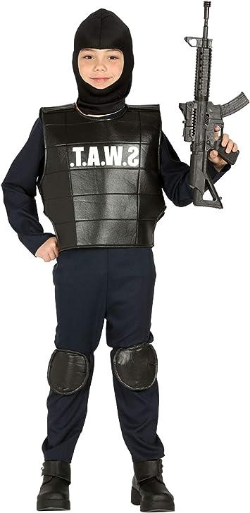 Guirca 88494 - Policia Swat Infafntil Talla 5 6 Años: Amazon.es ...