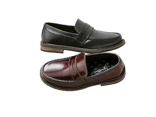 next Para Niños Zapatillas Mocasines Zapatos De Piel Formales Casuales (Niño Mayor)