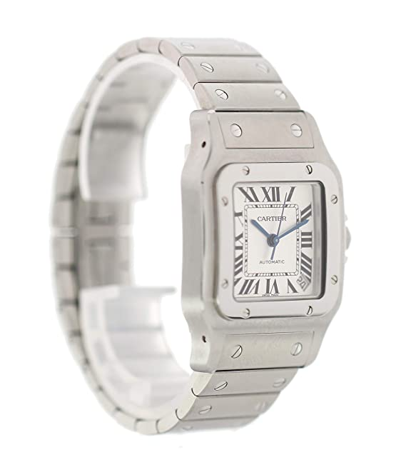 f3c5889c27b5 Amazon.com  Cartier Santos Galbee Automatic-self-Wind Male Watch 2823  (Certified Pre-Owned)  Cartier  Watches
