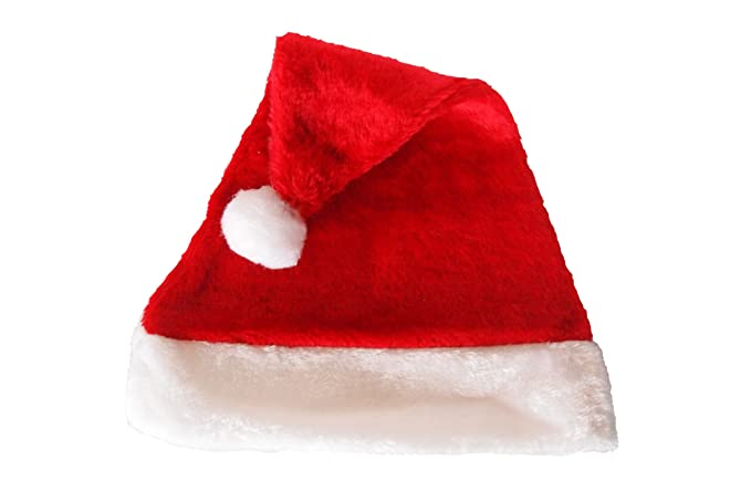 73a1cd276cfa0 Amazon.com  Santa Hat by Laser Hats  Clothing