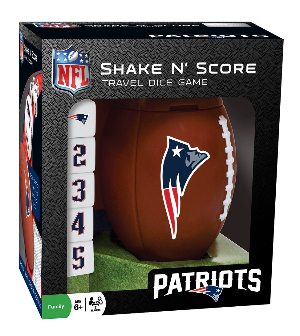 NFL Favorite Team Shake 'n Score Dice Game