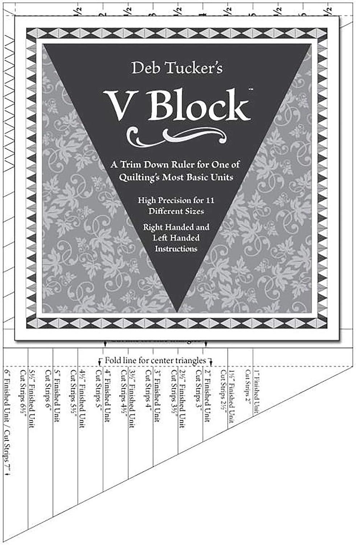 Deb Tuckers Studio 180 Tucker Trimmer V Block Trimmer