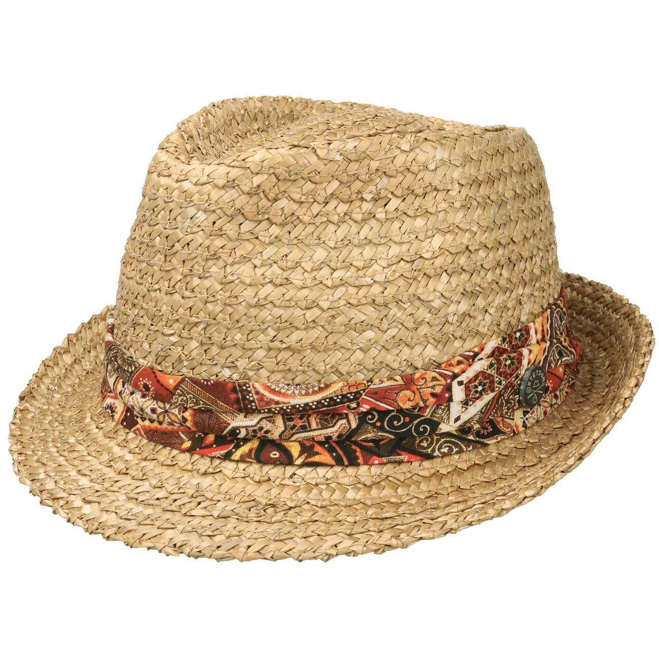 e83dd486a Stetson Vintage Wheat Trilby Straw Hat Women/Men | Sun Summer Spring-Summer