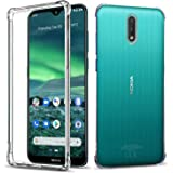 for Nokia 2.3 Case, Shockproof Clear Gel Heavy Duty Tough Anti Knock Air Cushion Protective Cover