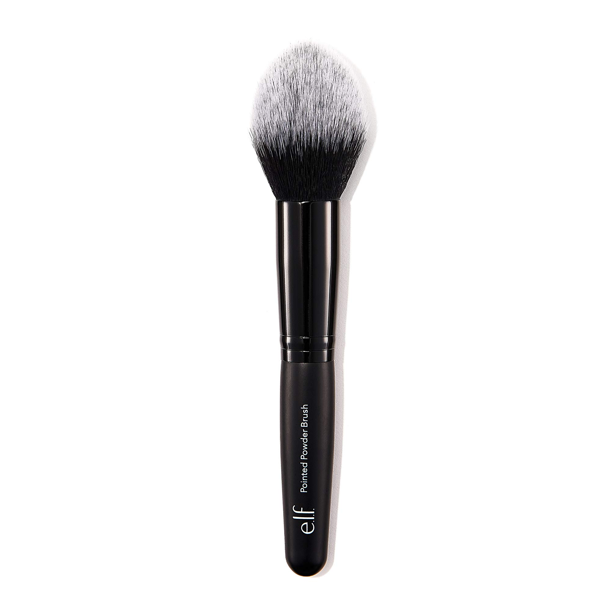 e.l.f. Pointed Powder Brush for Precision Application, Synthetic