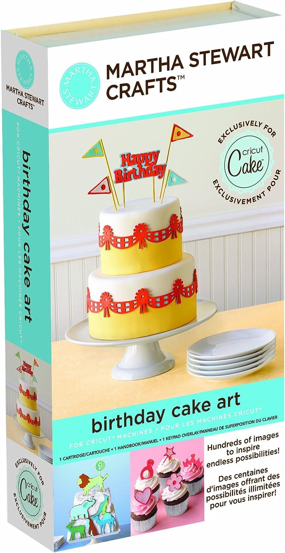 Wondrous Amazon Com Cricut 2000898 Martha Stewart Crafts Birthday Cake Art Funny Birthday Cards Online Overcheapnameinfo