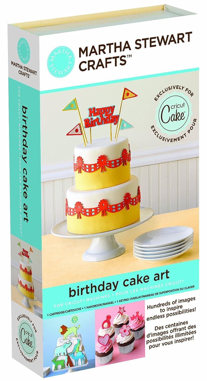 Amazoncom Cricut 2000898 Martha Stewart Crafts Birthday Cake Art