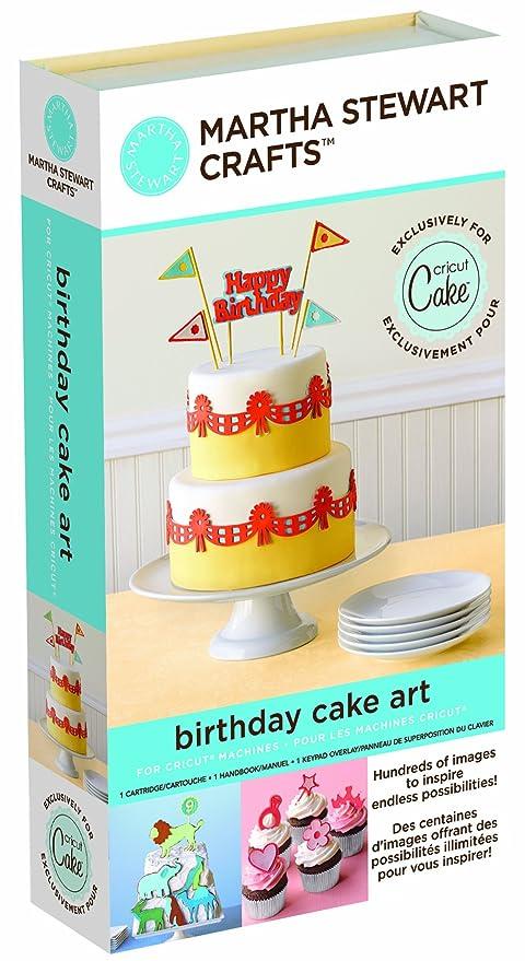 Pleasant Cricut Martha Stewart Crafts Birthday Cake Art Cartridge Amazon Funny Birthday Cards Online Elaedamsfinfo