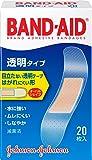 BAND-AID(バンドエイド) 救急絆創膏 透明タイプ 20枚