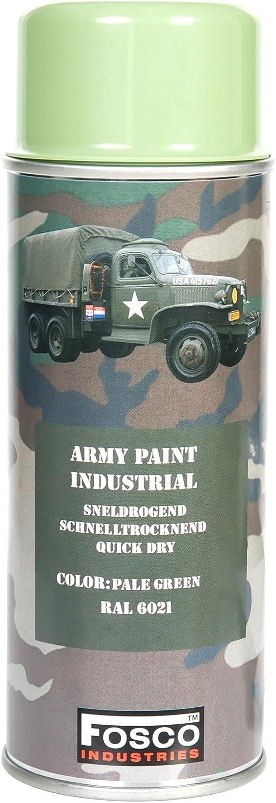 Monstercolors Farbmarker Stift Army 400 Ml Spray Farbe Hell Grün Ral 6021 Militärfahrzeuge Paint Paintball Camo Küche Haushalt