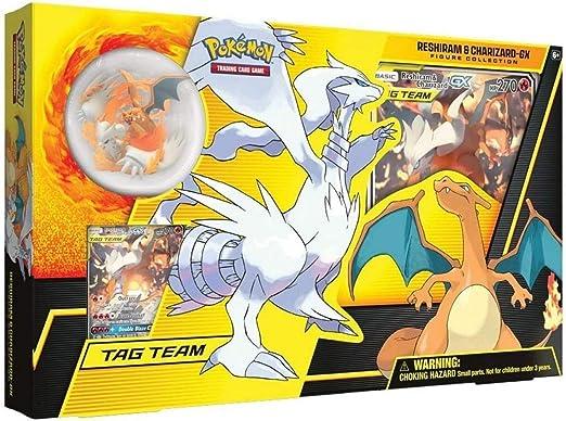 Pokémon TCG: Reshiram and Charizard-GX Figura Collection , color/modelo surtido: Amazon.es: Juguetes y juegos
