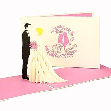 Pop Up tarjeta de boda