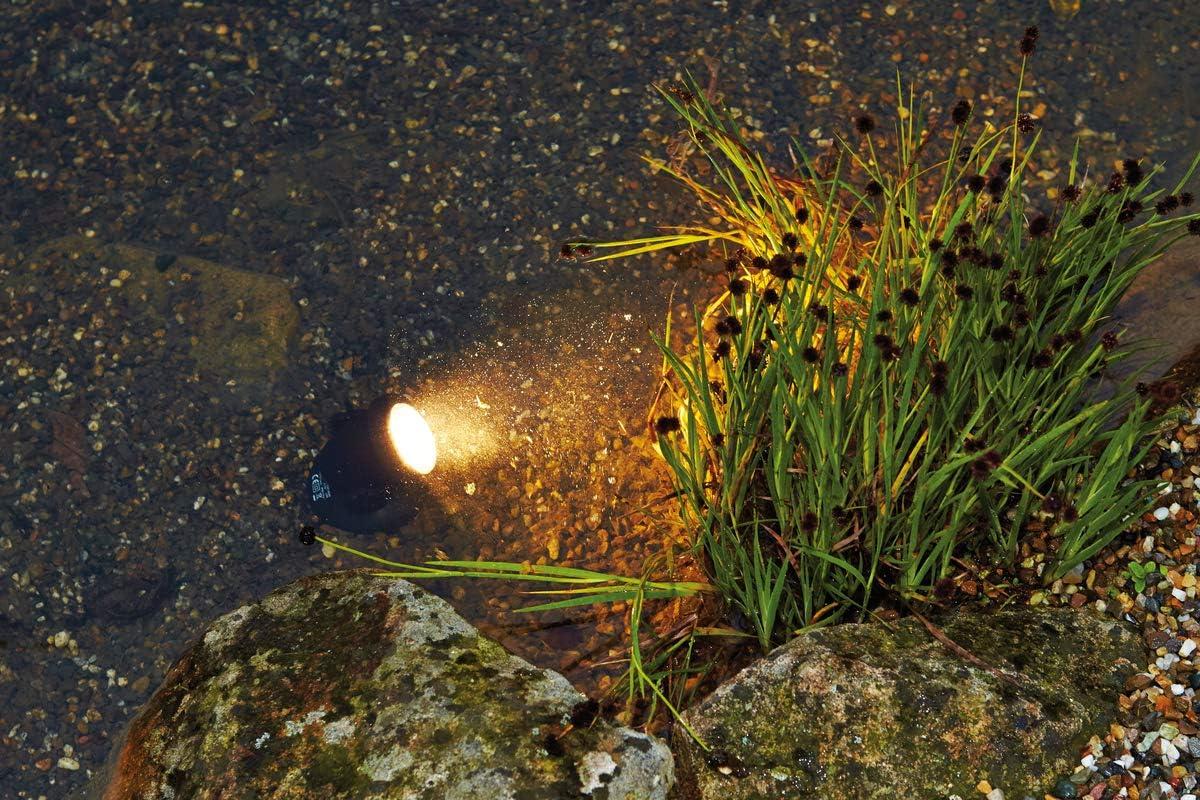 Pontec 57520 Unterwasserbeleuchtung PondoStar LED 3 er set | LED Spotset | Beleuchtung | Unterwasserscheinwerfer | Teichbeleuchtung