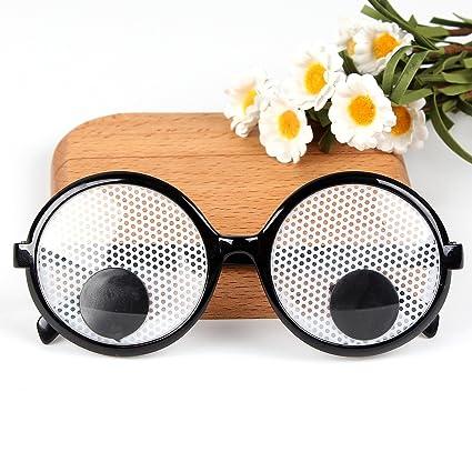 amazon com yigooood funny googly eyes goggles shaking party glasses