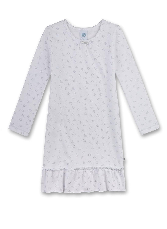 Sanetta Camicia da Notte Bambina Sanetta 232010 Bianco (White 10) 104 cm