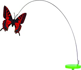 Pet Zone Fly by Spinner Interactive Cat Toy, Butterfly Replacement Part