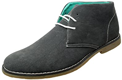 af1be3fb39 Northwest Hayden Mens Smart Casual Lace up Faux Suede Desert Boots: Amazon. co.uk: Shoes & Bags