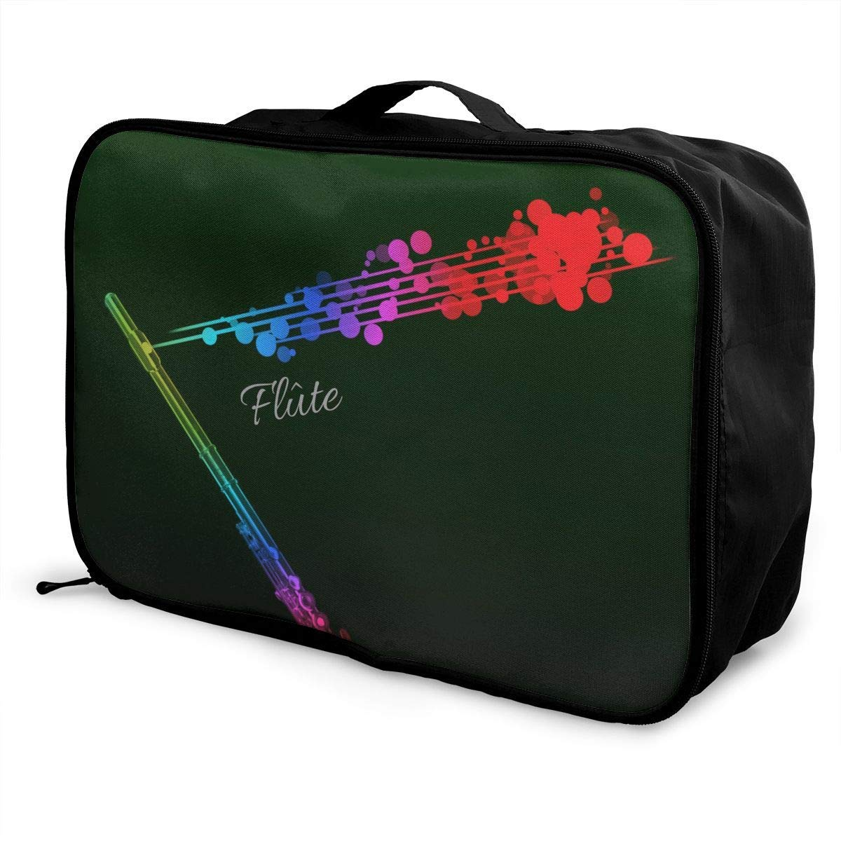 Lightweight Large Capacity Portable Duffel Bag for Men /& Women Color Music Flute Travel Duffel Bag Backpack JTRVW Luggage Bags for Travel