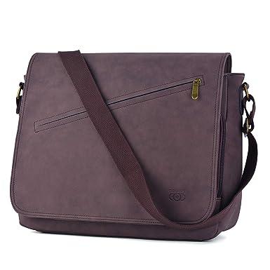 Image Unavailable. Image not available for. Color  Messenger Bag, COOFIT  Satchel Bags cross-body Bags Shoulder Laptop ... 819a77ab16