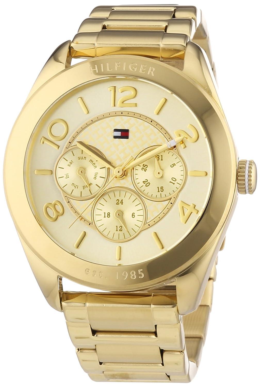Tommy Hilfiger Damen-Armbanduhr Sport Luxery Analog Quarz Edelstahl beschichtet 1781214