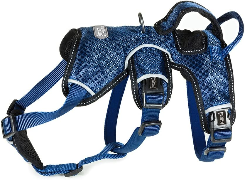 Chaleco con clip frontal para mascotas reforzado,Correa antideslizante ajustable para mascotas,Malla de malla transpirable reflectante,Para perros ...