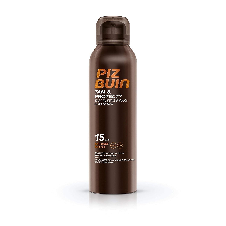 Piz Buin Tan & Protect Tan Intensifying Sun Spray SPF 15 150ml & Piz Buin After Sun Tan Intensifying Lotion 200ml Duo Set