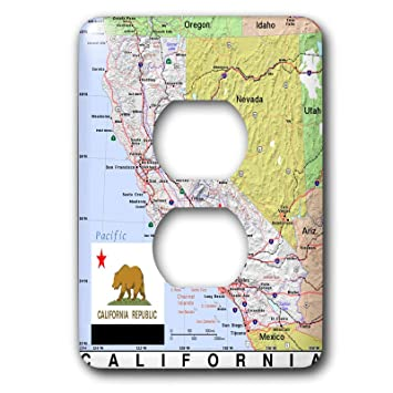 Outlet California Map.3drose Topo Maps And Flags Of States Image Of Topographic Map Of