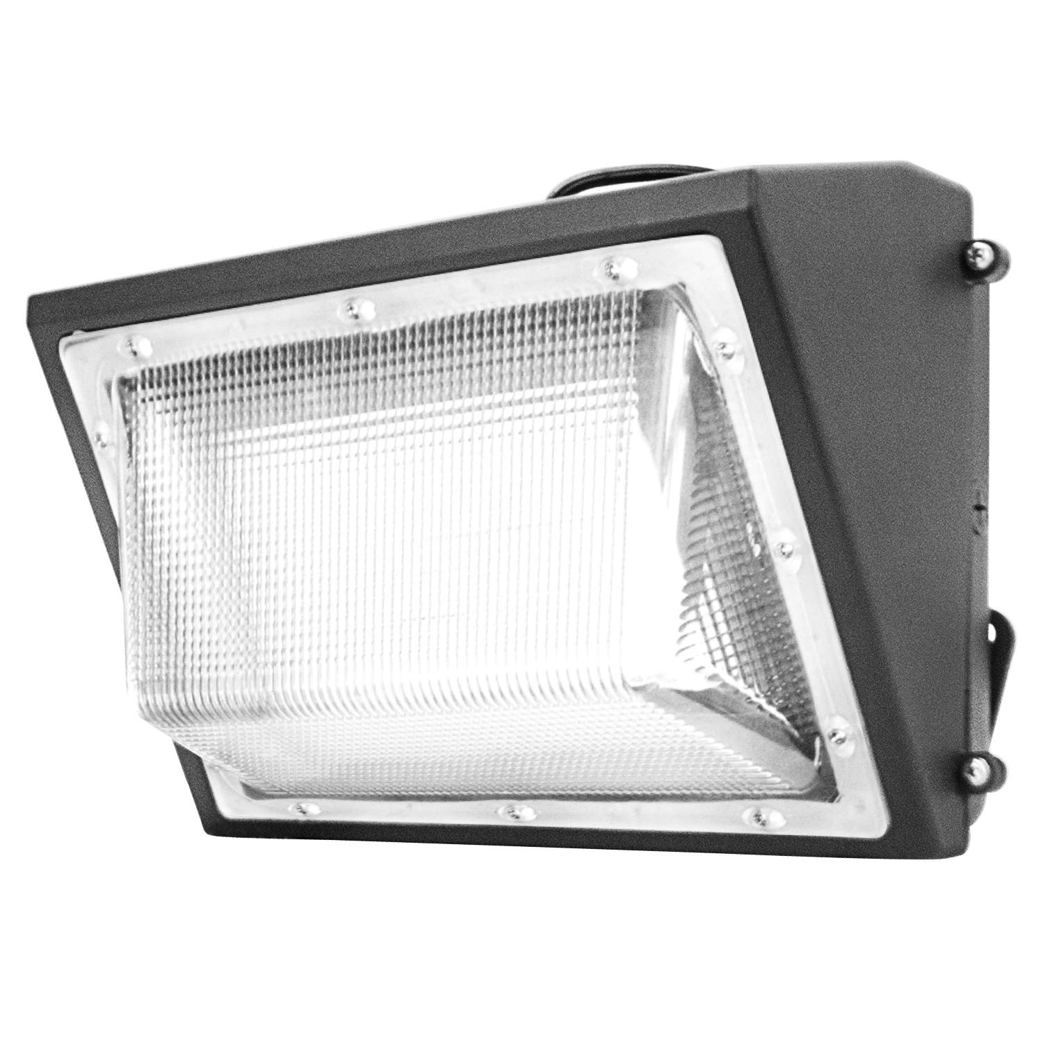 70W LED Wall Pack Light,ETL List,8500lm and 5500K Super Bright White Outdoor Wall Pack LED Security Light,250-300W HPS Metal Halide Bulb Replacement (70Watt) by WYZM