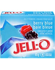 Jell-O Jelly Powder, Berry Blue, 85g (Pack of 24)