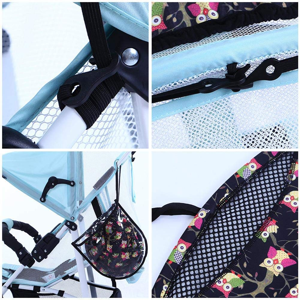 ZLMI Pushchairs Sunshade Universal Stroller Cover Anti-UV Pushchair Parasol Cover Buggy Sun Shade Cover (Blocks 99 UV),A by ZLMI (Image #7)
