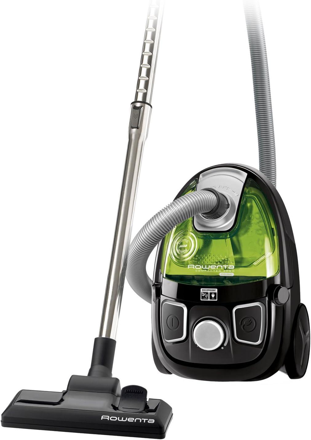 Rowenta RO 5342 aspirador - Aspiradora, color Negro, Verde: Amazon.es: Hogar