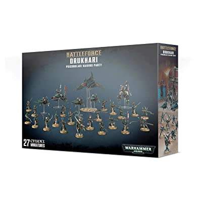 Games Workshop Warhammer 40,000 Drukhari Poisonblade Raiding Party: Toys & Games
