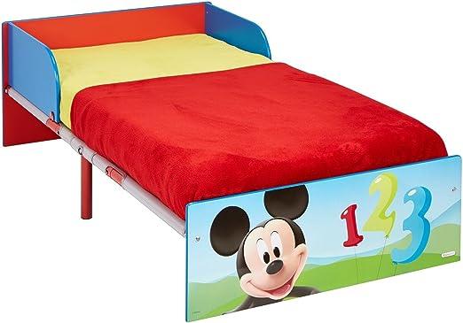 Disney Mickey Mouse Bett für Kleinkinder, Holz, blau, 143 x