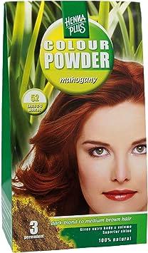 Tinte en polvo Henna plus caoba: Amazon.es: Salud y cuidado ...