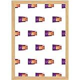 Sottile Quercia Colore Cornice, A3 Dimensione, 29.7 x 42 cm