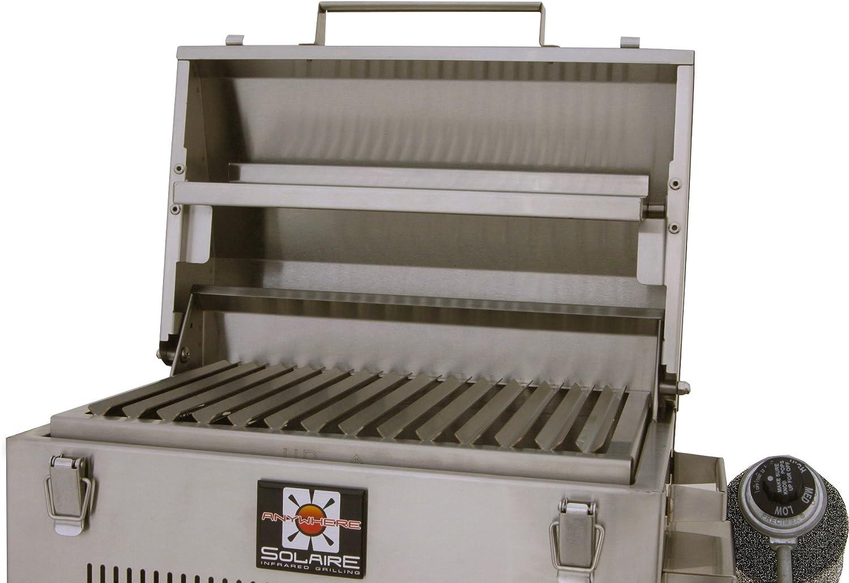 Solaire SOL IR17BWR Grille à gaz Infrarouge Portable avec