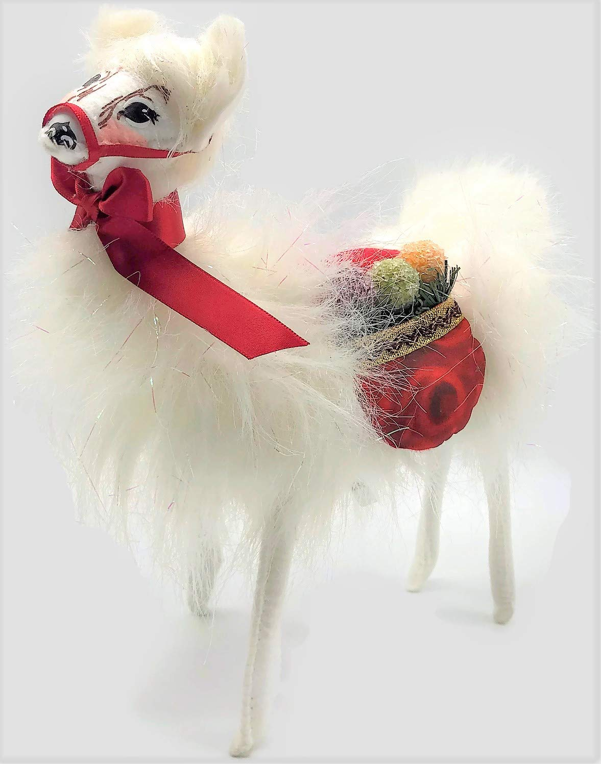 Annalee 10 Christmas Delights Standing Llama Decoration