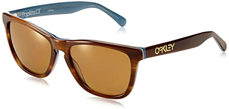 6e58c85290 Image Unavailable. Image not available for. Colour  Oakley Frogskins LX  Sunglasses OO2043-03 Tortoise Blue   Bronze Polarized Lens