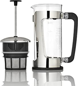 Espro 1218C P5 French Press, 18 Ounce, Glass/Stainless Steel