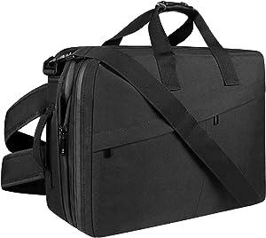 Bessteven Men Backpack Messenger Shoulder Bags Laptop Bag Crossbody Case 3 in 1 High Capacity 15.6