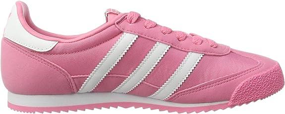 adidas dragon mujer rosa