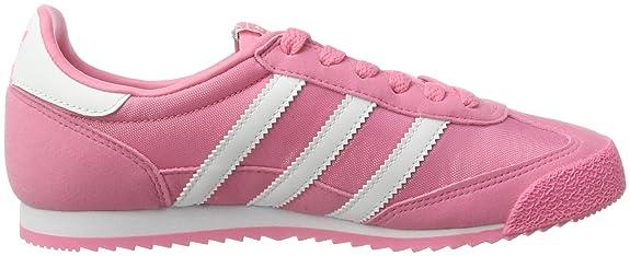 adidas originali la ragazza drago formatori us5 rosa