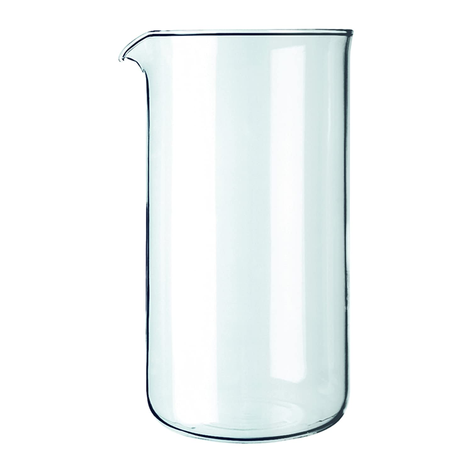 Bodum Replacement Beaker French Press, Replacement 12 Oz Clear Glass Bodum Inc 1503-10